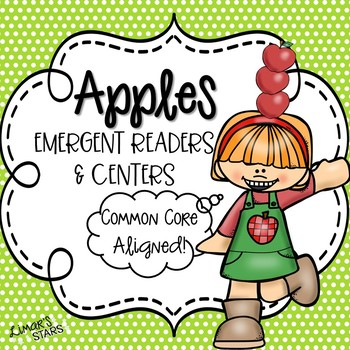 Apples Emergent Readers & Centers