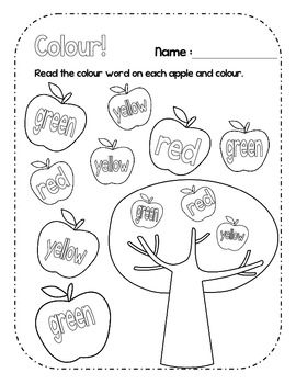 {Apples Everywhere!} Apple math and language activities for Fall