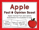 Apple Fact and Opinion Scoot
