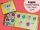 Apples File Folder Game: Emotions Matching