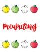 Apples - Fine Motor, Writing, and Sensory Bundle
