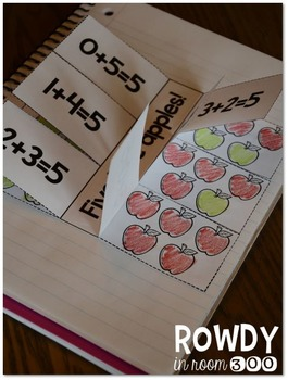 Apples For Everyone! Reading, Math, and Interactive Notebooking