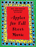 Apples For Fall Sheet Music- FREEBIE!!
