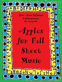 Apples For Fall Sheet Music- FREEBIE!!