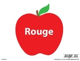 Color Apples - French/English BUNDLE Bulletin Board and Room Decor