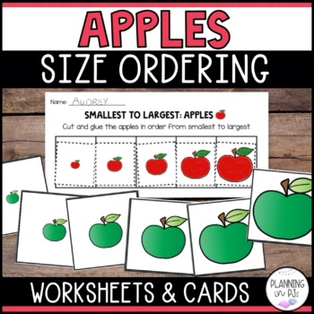 Apples - From Smallest to Largest