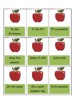 FRY WORDS APPLES