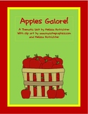 Apples Galore:  A Preschool Unit