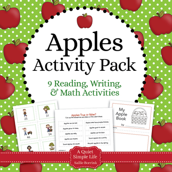 Apples Literacy and Math for Kindergarten and First Grade