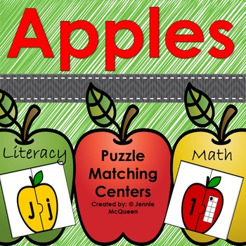 Apples Galore! Math and Literacy Centers!