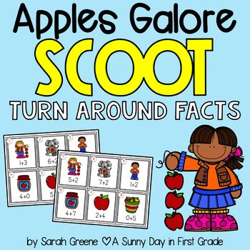 Apples Galore Scoot! {turn around facts}