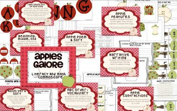 Apples Galore with Common Core Unit