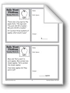 Apples (Grade 2 Daily Word Problems-Week 22)