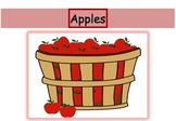 Apples - Grapes game - Short and long /a/ vowel discrimina