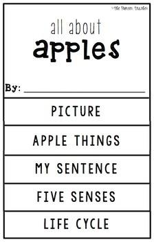 {Apples} Information Flip Book