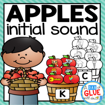 Apples Initial Sound Match-Up