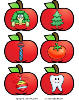 Apples Match-Ups Bundle