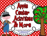 Apples / Johnny Appleseed Centers / Unit Activities - Common Core Aligned