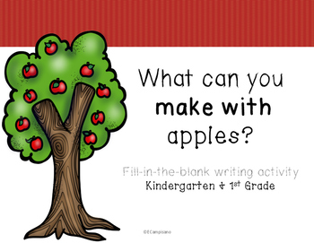 Apples / Johnny Appleseed Writing