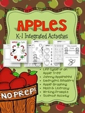 Apples K-1 Integrated Unit: Math, Science, Literacy & Writing!