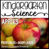 Apples Kindergarten Science NGSS