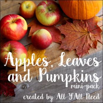 Apples, Leaves and Pumpkins