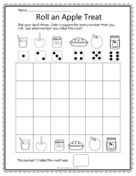 Apples Unit PK to 1st Science Literacy and Math