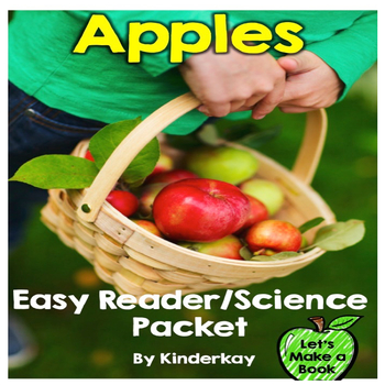 APPLES Easy Reader Science/Social Studies Let's Make a Book