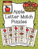 Apples Letter Match Puzzles