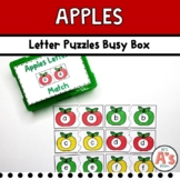 Apples Letter Matching Busy Box
