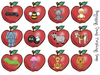 Apples: Literacy & Math Centers