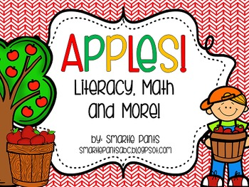Apples Literacy, Math and More for Kindergarten!
