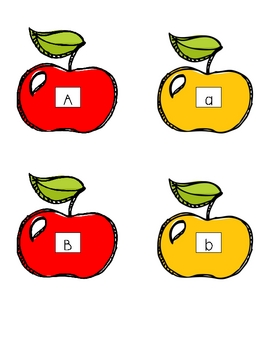 Apples Literacy, Science, and Math Centers Unit