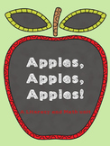 Apples Literacy and Math Unit