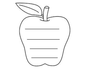 Apples- Make a chart,a book and more!