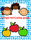 Apples Matching Game - Multiplication