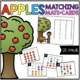 Apples Matching Mats and Activity Cards (Patterns, Colors,