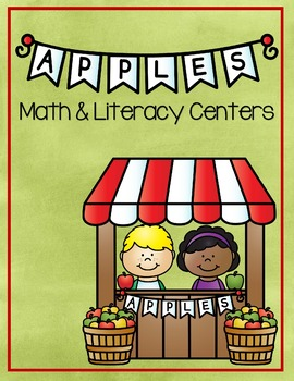Apples Math & Literacy Center Games
