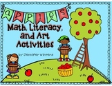 Apples Math, Literacy, and Art Activities