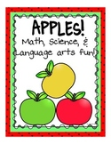 Apples Math, Science, Literacy, and Fun for PreK, K & Homeschool!