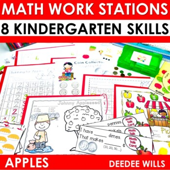 Math Stations ~ Apples