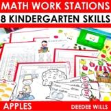 Kindergarten Math Centers ~ Apples