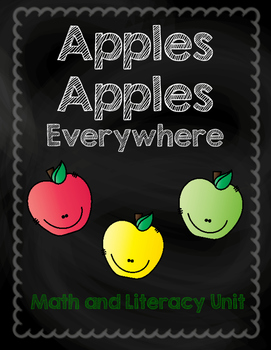 Apples Math and Literacy