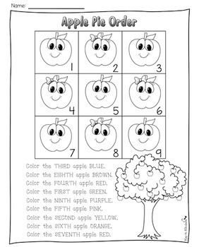 Apples Math and Literacy Activities and Centers