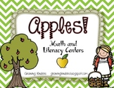 Apples! Math and Literacy Centers
