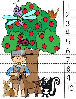 Apples Math and Literacy Thematic Activity Pack