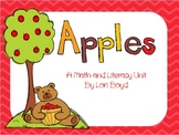 Apples-Math and Literacy Unit