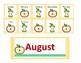 Apples Mini Calendar Cards