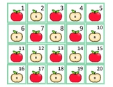 Apples Mini Calendar Cards