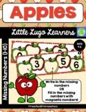 Apples Missing Numbers (1-10)